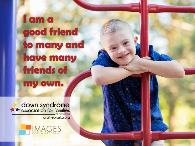1a06a4fdf53b3 Down Syndrome Association for Families of Nebraska is a Lincoln non-profit  organization that provides support for individuals with Down syndrome, ...